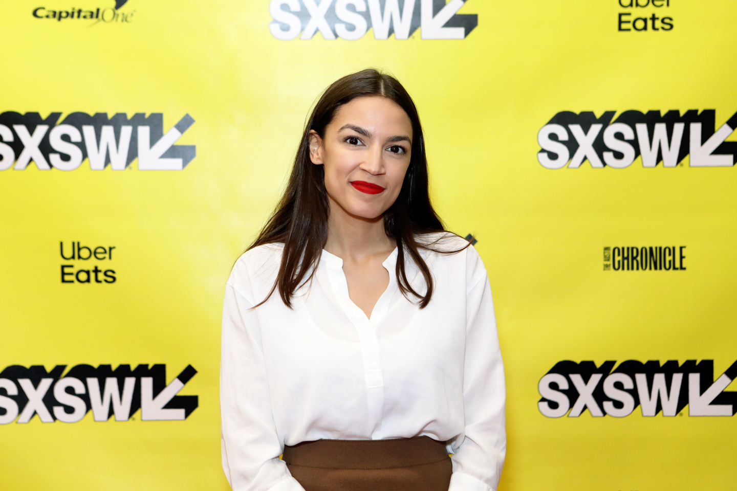 Featured Session Alexandria Ocasio-Cortez and the New Left - Photo by Samantha Burkardt/Getty Images for SXSW