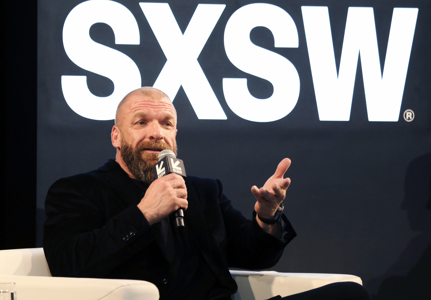 Paul Michael Levesque aka Triple H at the Featured Session: The Women's Evolution in WWE and Beyond.