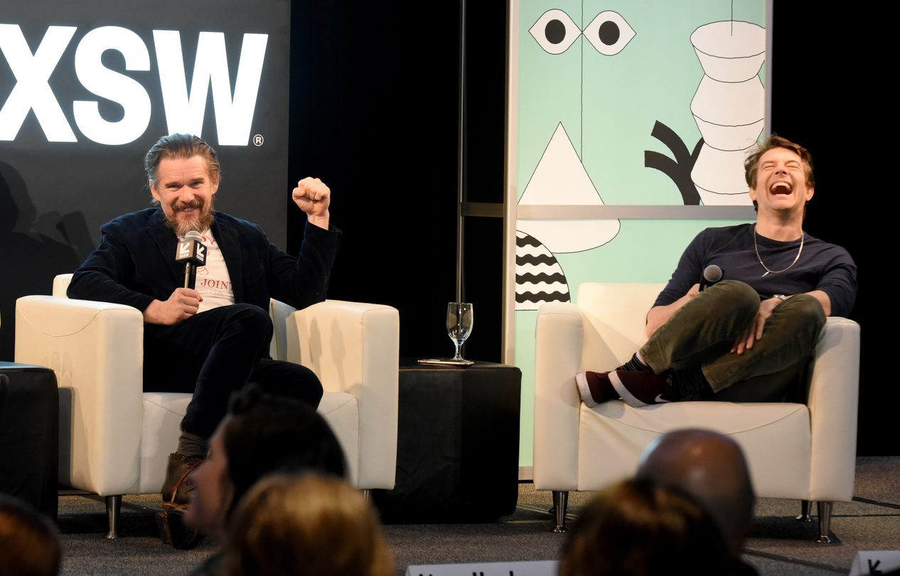 Ethan Hawke and Jason Blum - Photo by Dave Pedley/Getty Images for SXSW