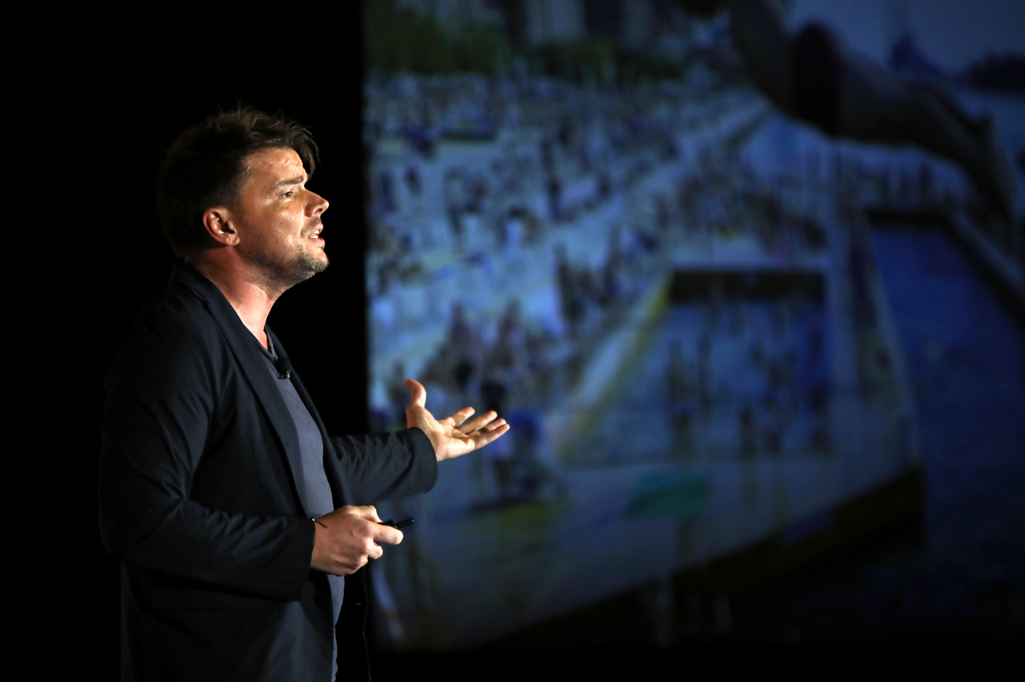 Bjarke Ingels speaks onstage at Featured Session: FORMGIVING with Bjarke Ingels.