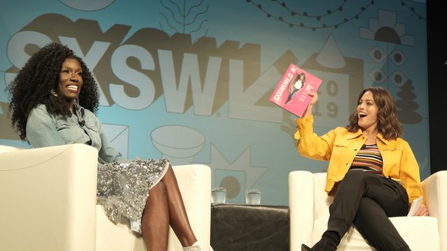 Bozoma Saint John and Ashley Graham speak onstage at her Convergence Keynote.