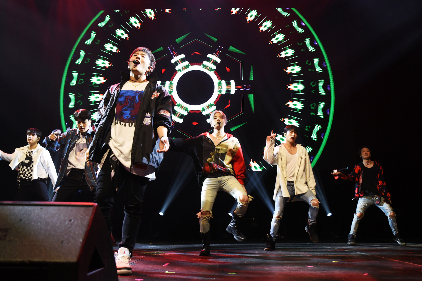 iKON performs onstage at Austin City Limits Live at the Moody Theater.