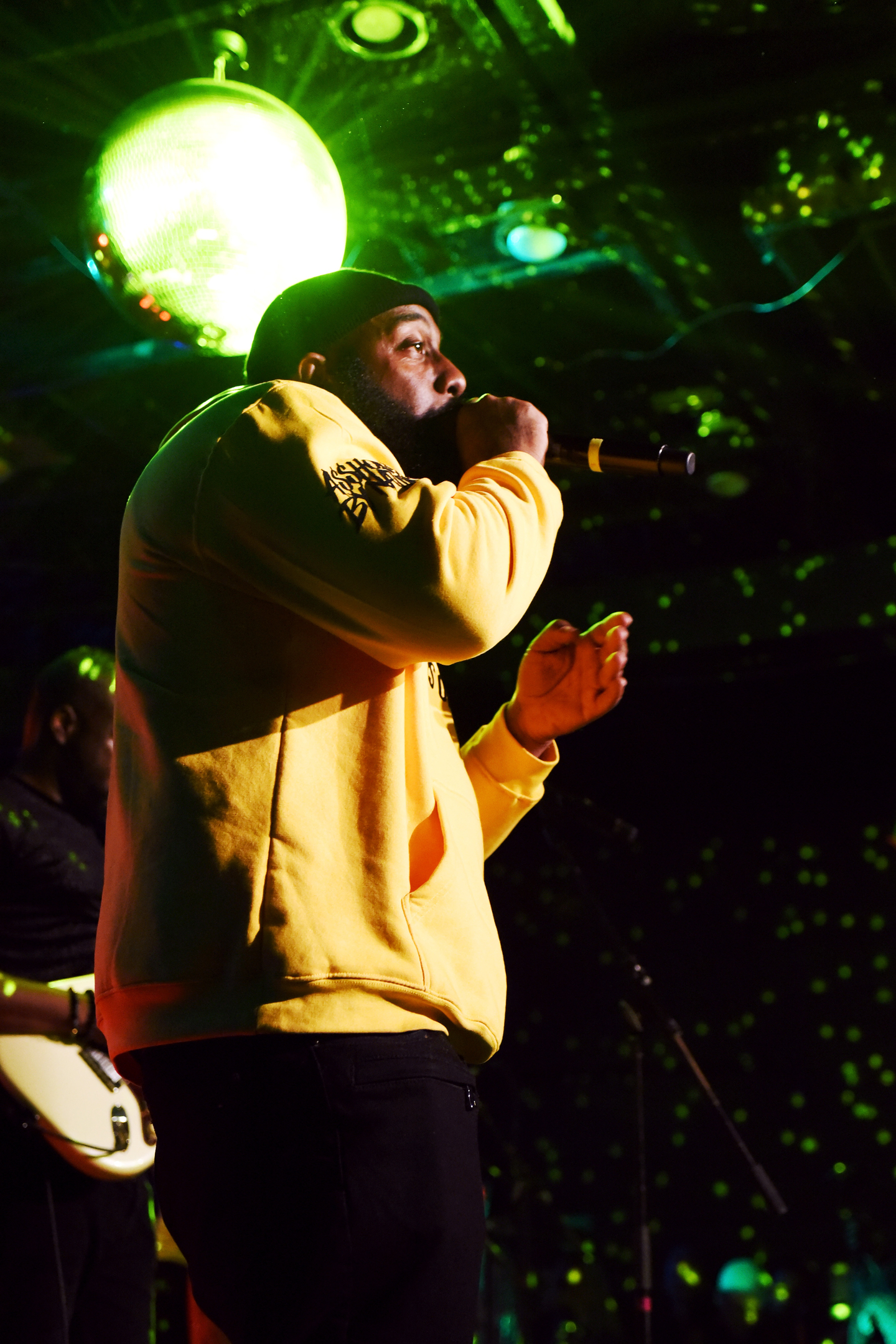 Trae tha Truth performs onstage at the Parish, presented by HEADS music.