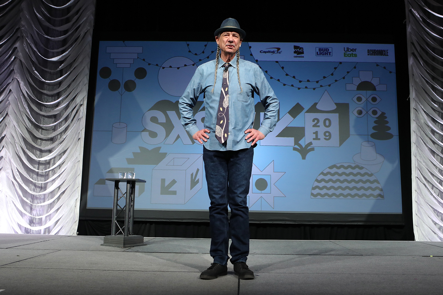 Steve DeAngelo at his Featured Session: The Cannabis Renaissance: Science Validates Tradition – Photo by Samantha Burkardt/Getty Images for SXSW