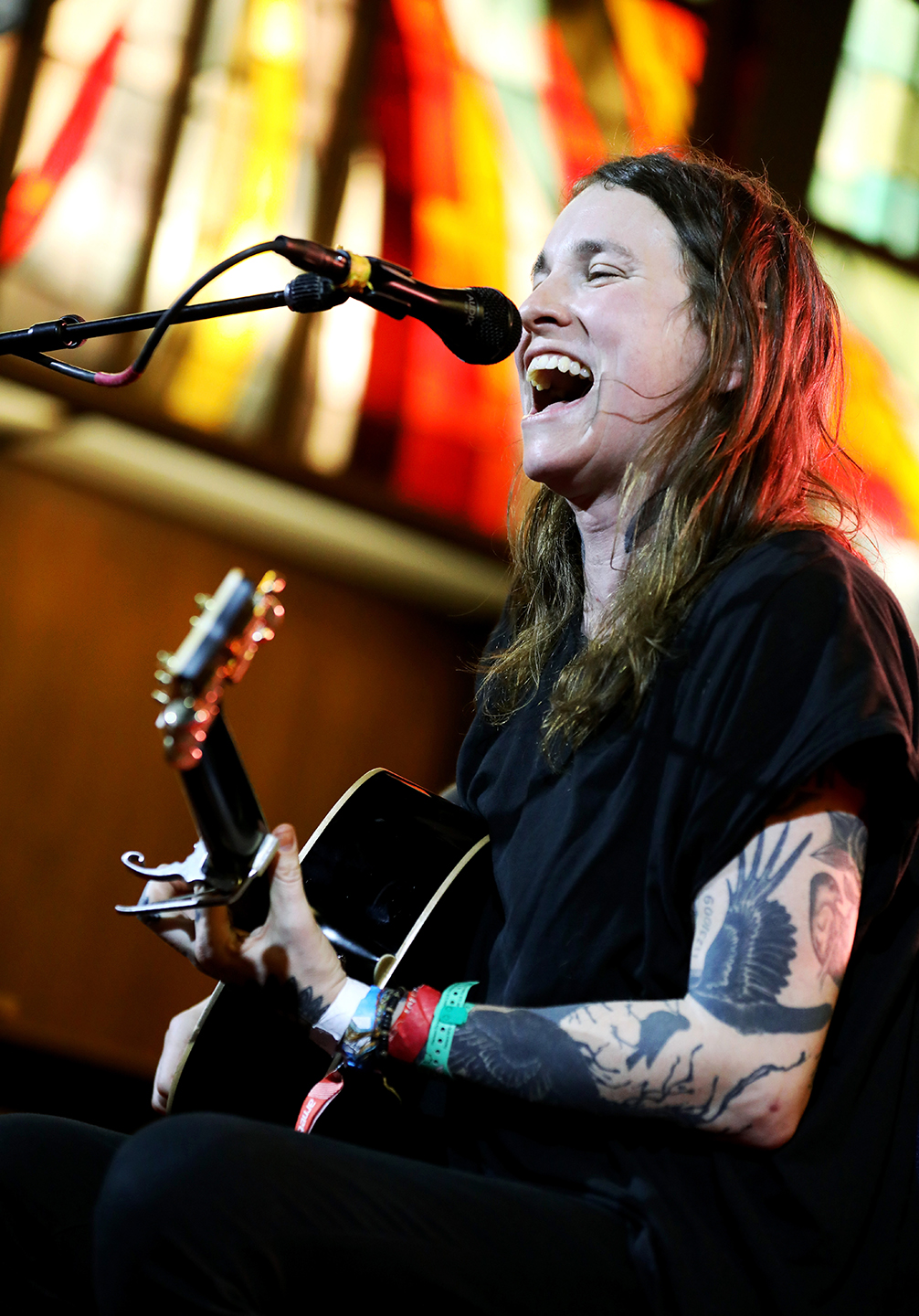 Laura Jane Grace at Central Presbyterian Church, presented by Yamaha Guitars – Photo by Sean Mathis/Getty Images for SXSW