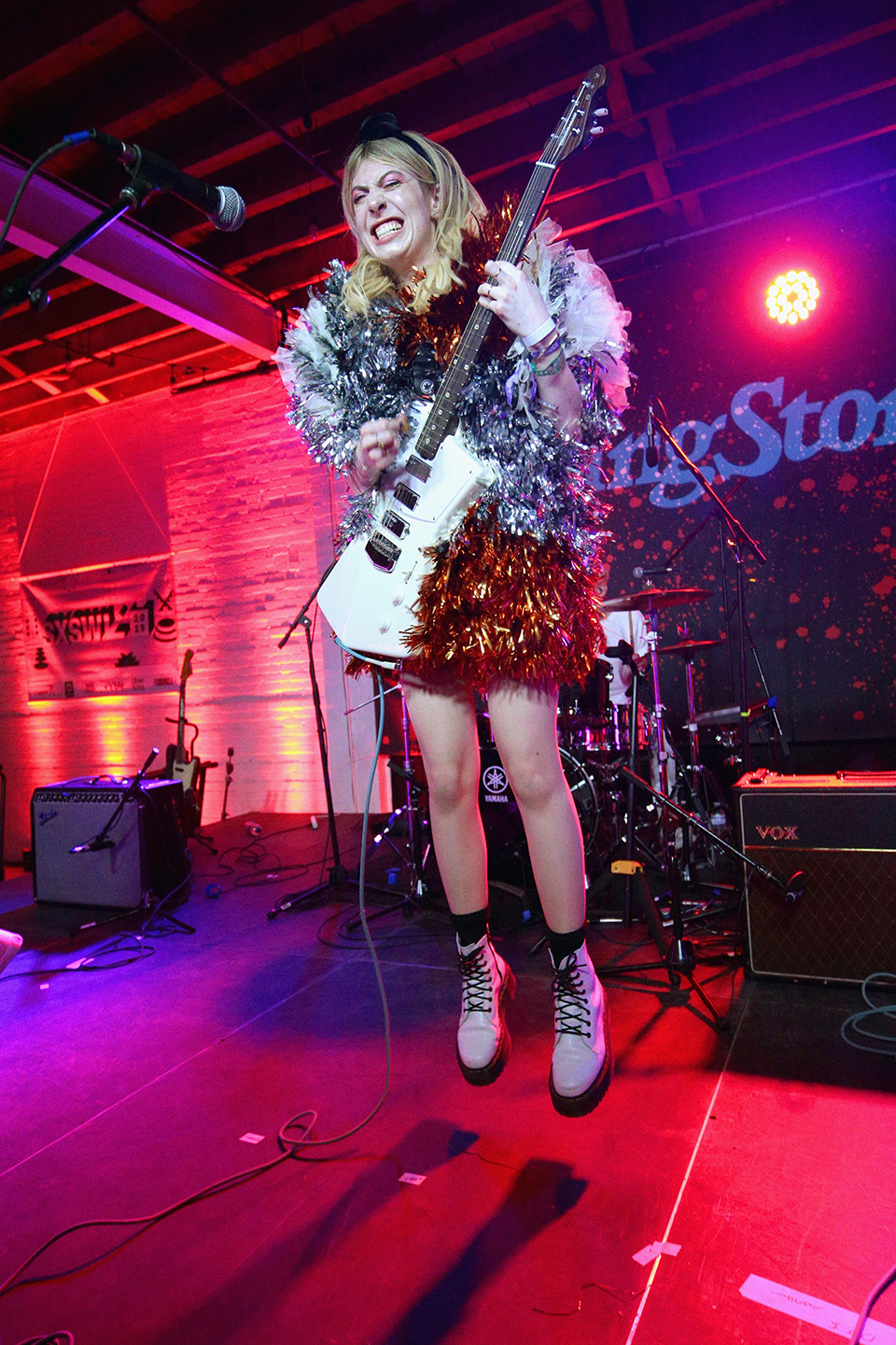 Eva Hendricks of Charly Bliss performs at Native Hostel, presented by Rolling Stone Live – Photo by Steve Rogers Photography/Getty Images for SXSW