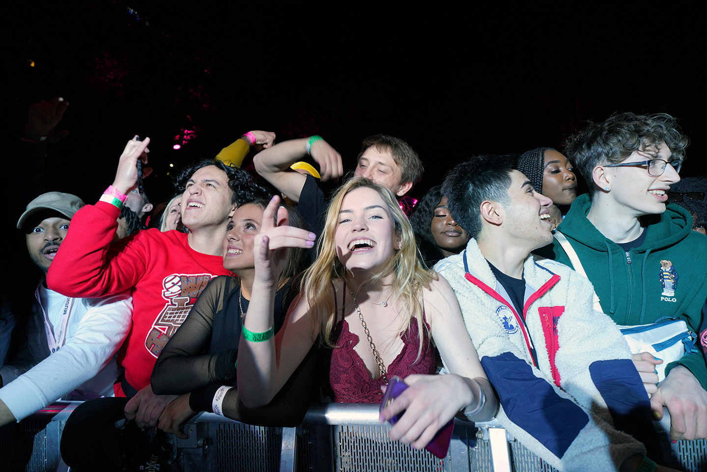 Festivalgoers attend DNES Marketing at Stubb's – Photo by Amy E. Price/Getty Images for SXSW