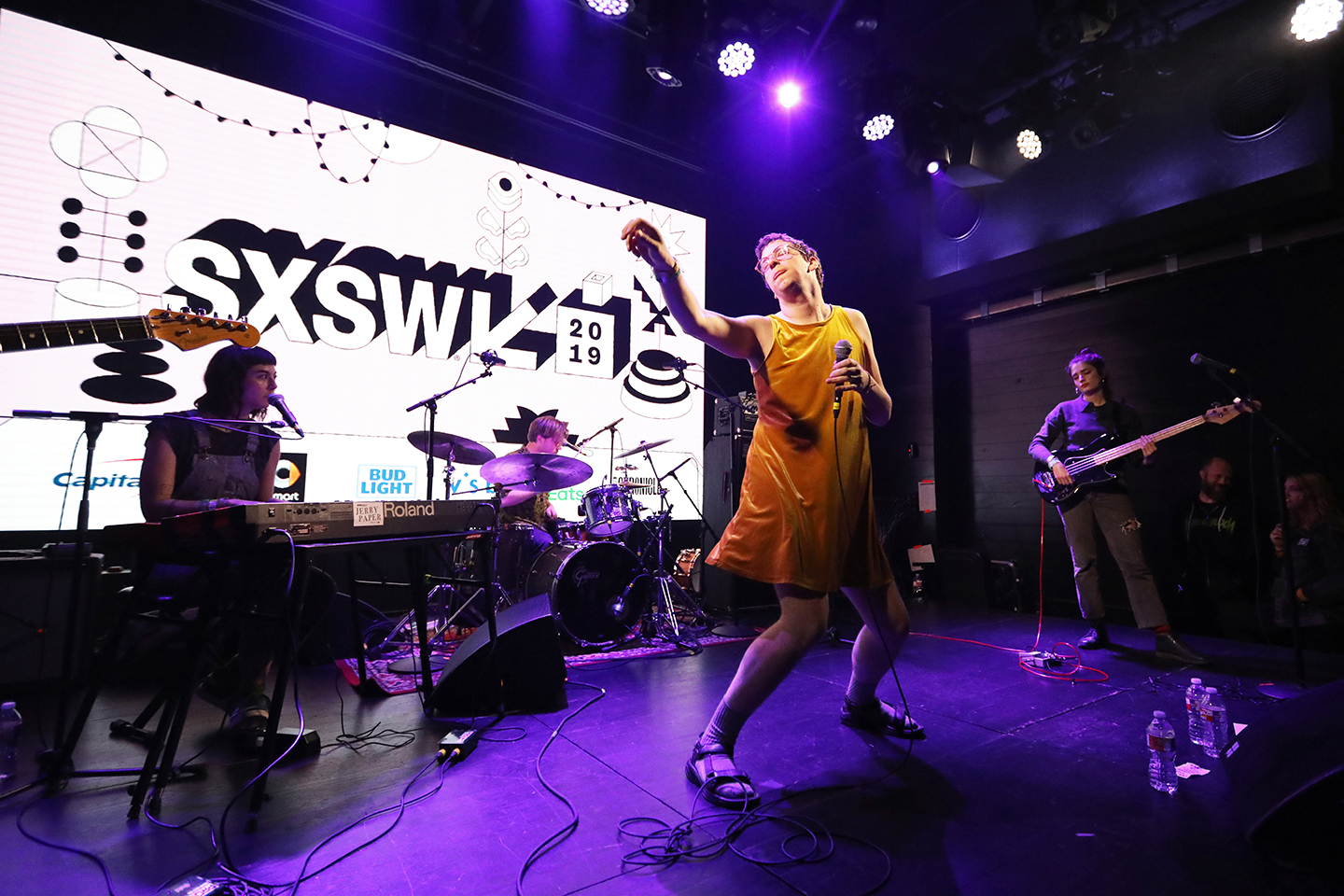 Jerry Paper performs onstage at the Co-Sign showcase at 3TEN Austin City Limits Live.