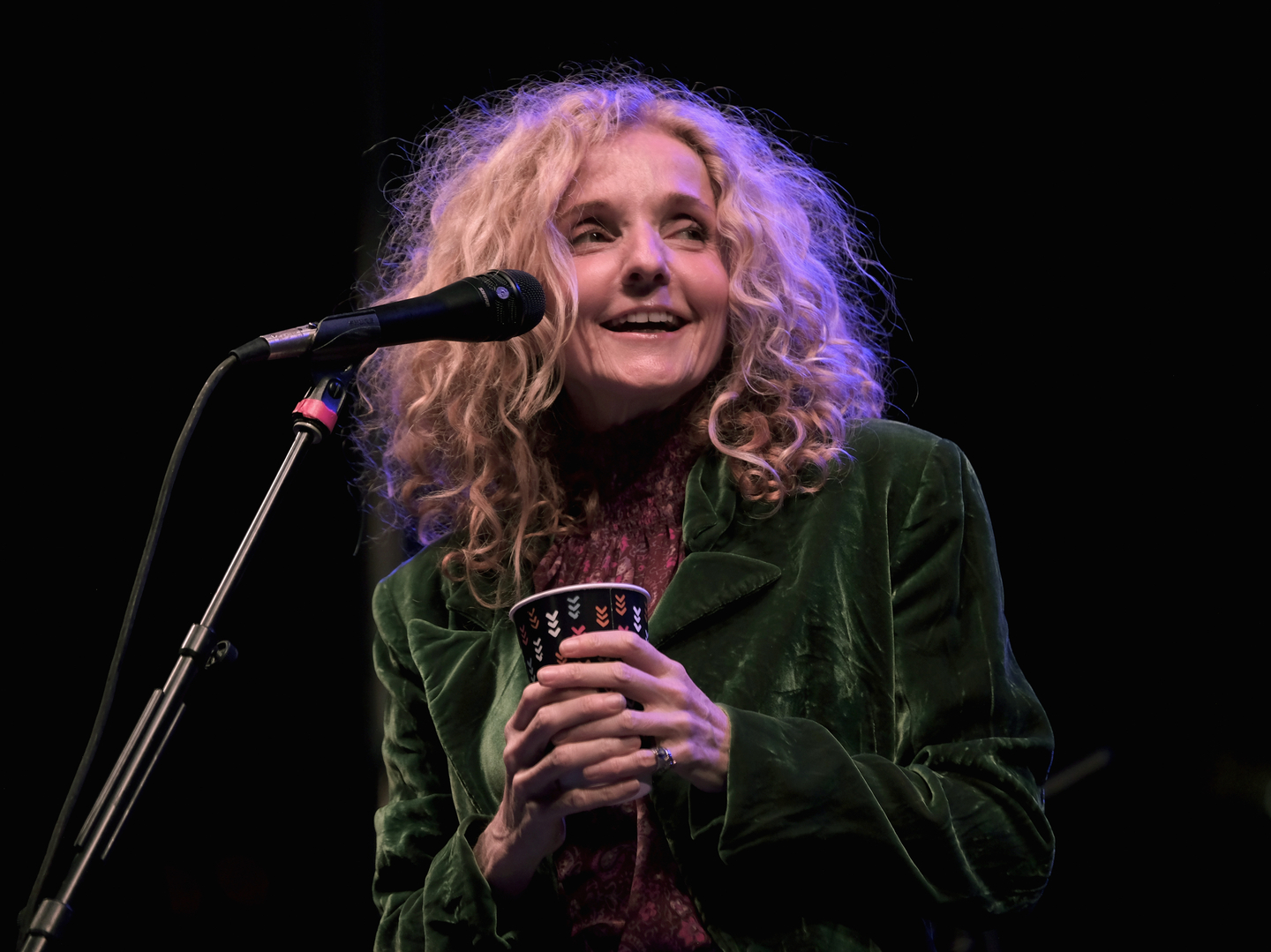 Patty Griffin at the Outdoor Stage at Lady Bird Lake – Photo by Hubert Vestil/Getty Images for SXSW