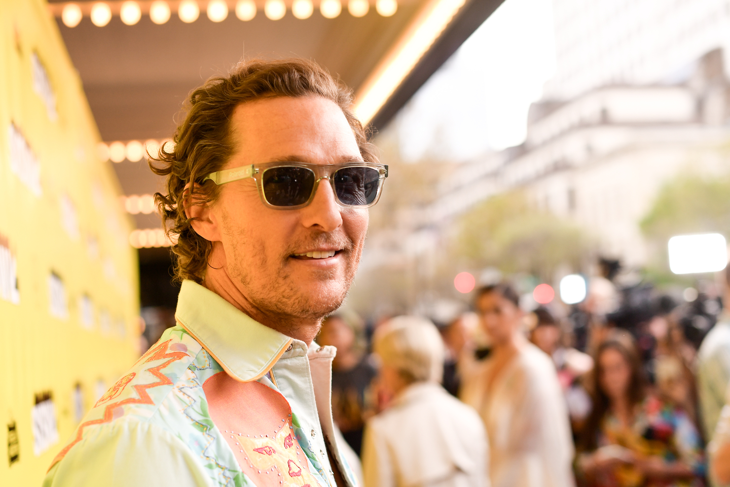Matthew McConaughey attends The Beach Bum Premiere at the Paramount Theatre.