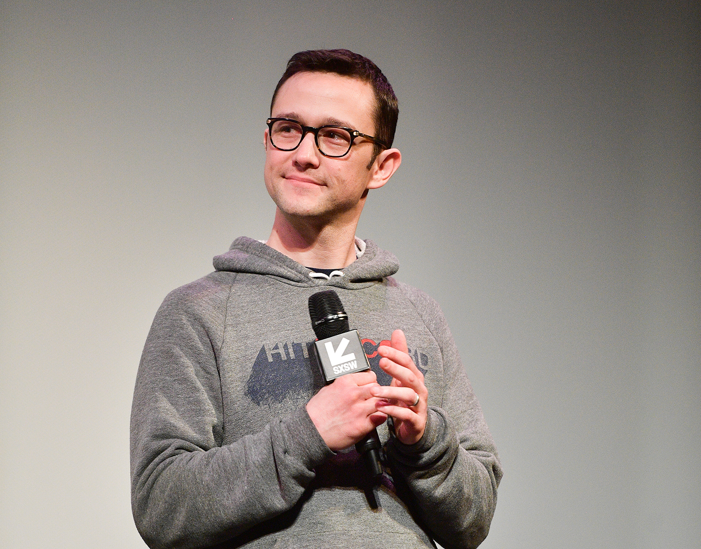 Joseph Gordon-Levitt at the world premiere of Band Together With Logic – Photo by Matt Winkelmeyer/Getty Images for SXSW