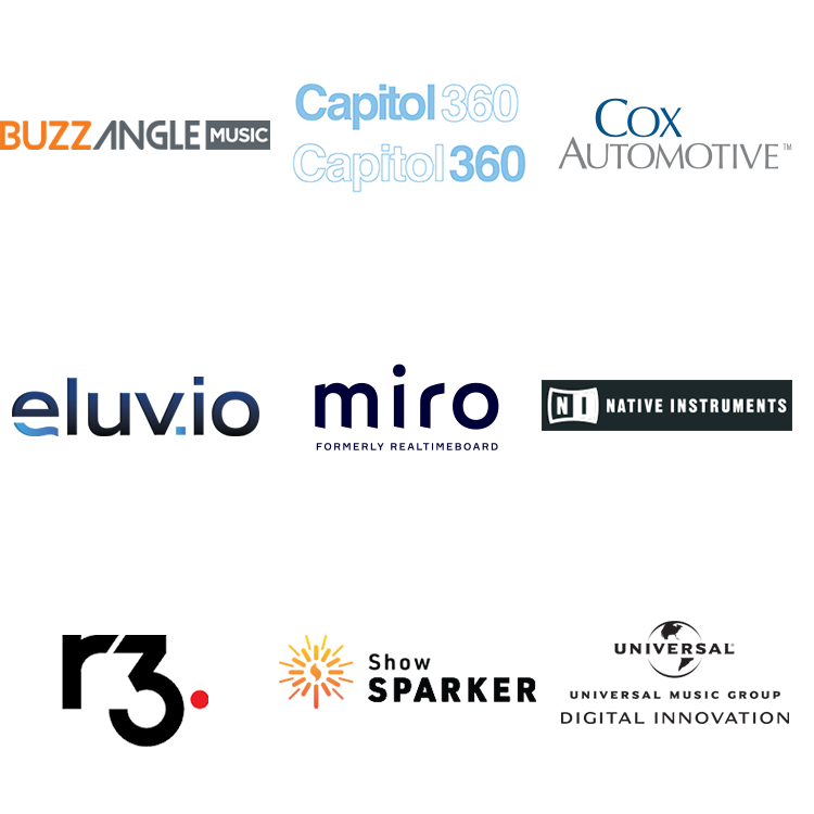 API Sponsor logos