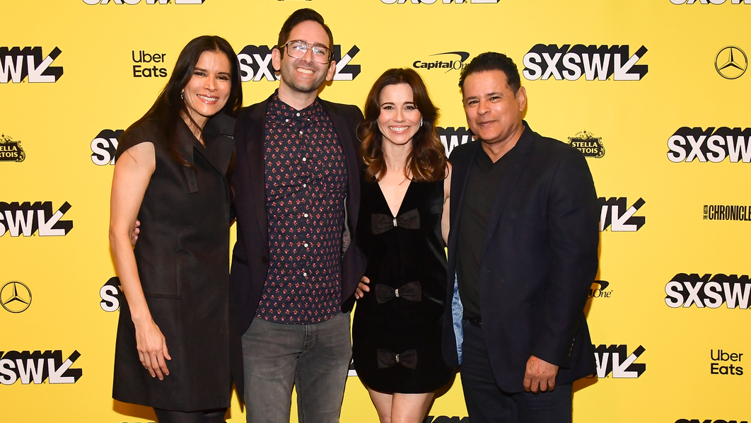 Patricia Velásquez, Michael Chaves, Linda Cardellini, Emile Gladstone, and Raymond Cruz attend the