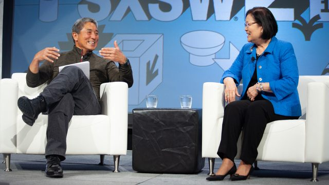 Senator Mazie Hirono With Guy Kawasaki - 2019 - Photo by Debra Reyes