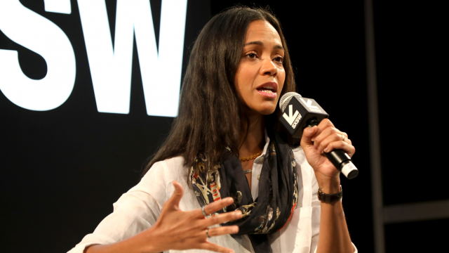 Changing the Narrative with Zoe Saldana - Photo by Sean Mathis/Getty Images for SXSW