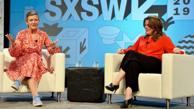 Featured Session: Fair Competition in a Digital World - Photo by Nicola Gell/Getty Images for SXSW