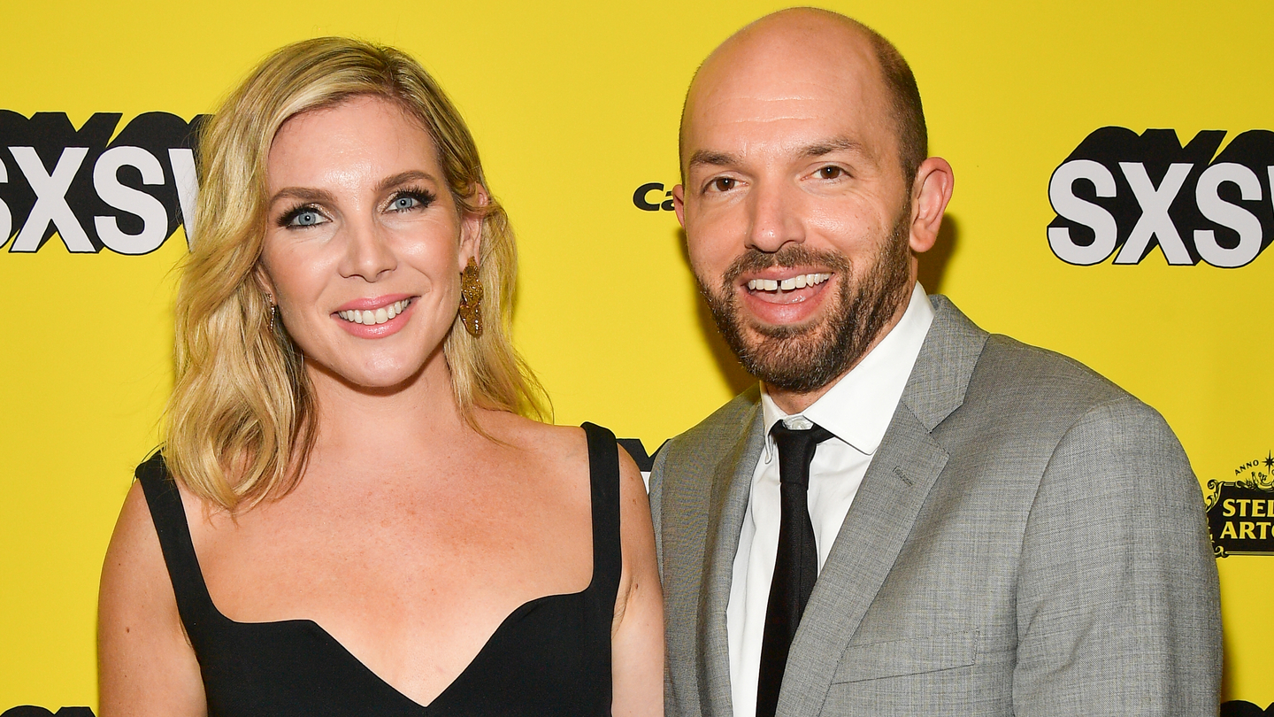 "June Diane Raphael and Paul Scheer attend the ""Long Shot"" Premiere - 2019 SXSW Conference and Festivals at Paramount Theatre on March 09, 2019 in Austin, Texas. (Photo by Matt Winkelmeyer/Getty Images for SXSW)"