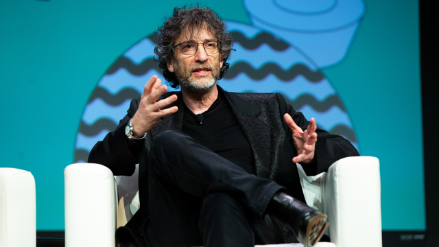 2019 SXSW Featured Speaker, Neil Gaiman – Photo by Alexa Gonzalez Wagner