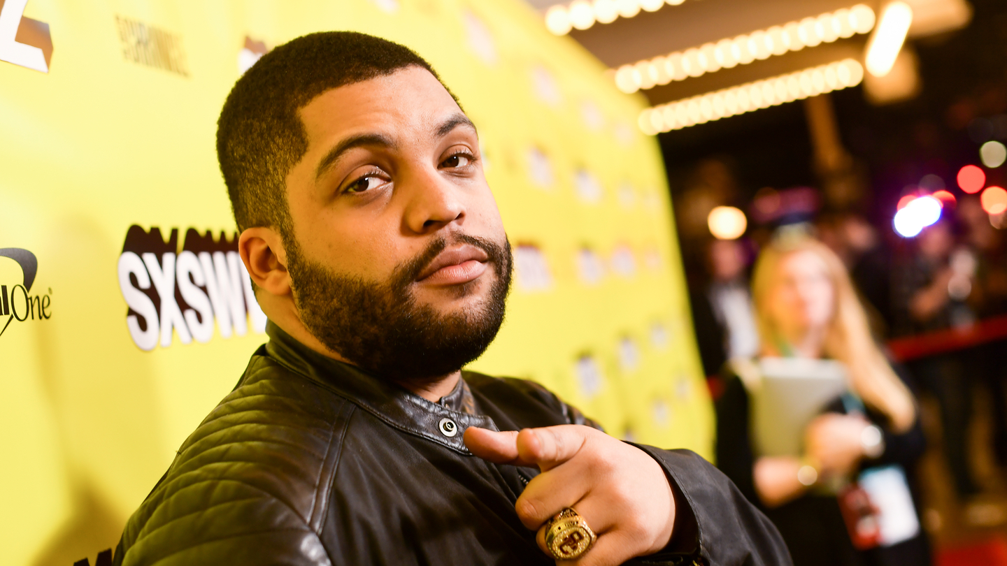 "O'Shea Jackson Jr. attends the ""Long Shot"" Premiere - 2019 SXSW Conference and Festivals at Paramount Theatre on March 09, 2019 in Austin, Texas. (Photo by Matt Winkelmeyer/Getty Images for SXSW)"