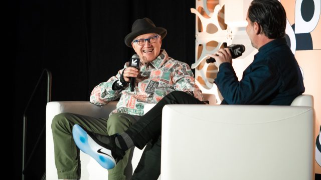 2019 Featured Session, Tinker Hatfield with Scott Dadich - Photo by Christopher Bouie