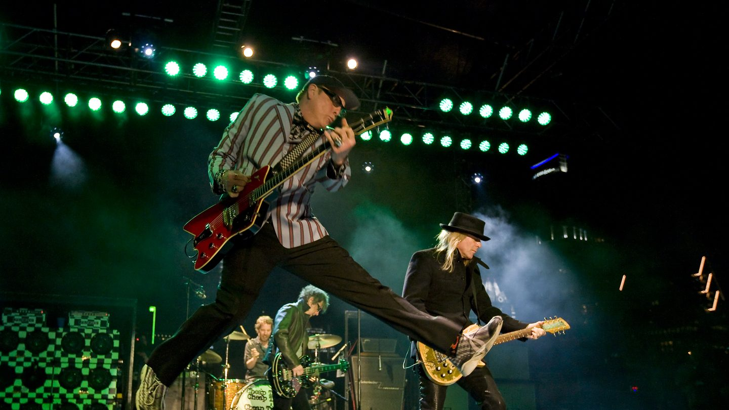 Cheap Trick, 2010. Photo by Scott Melcer