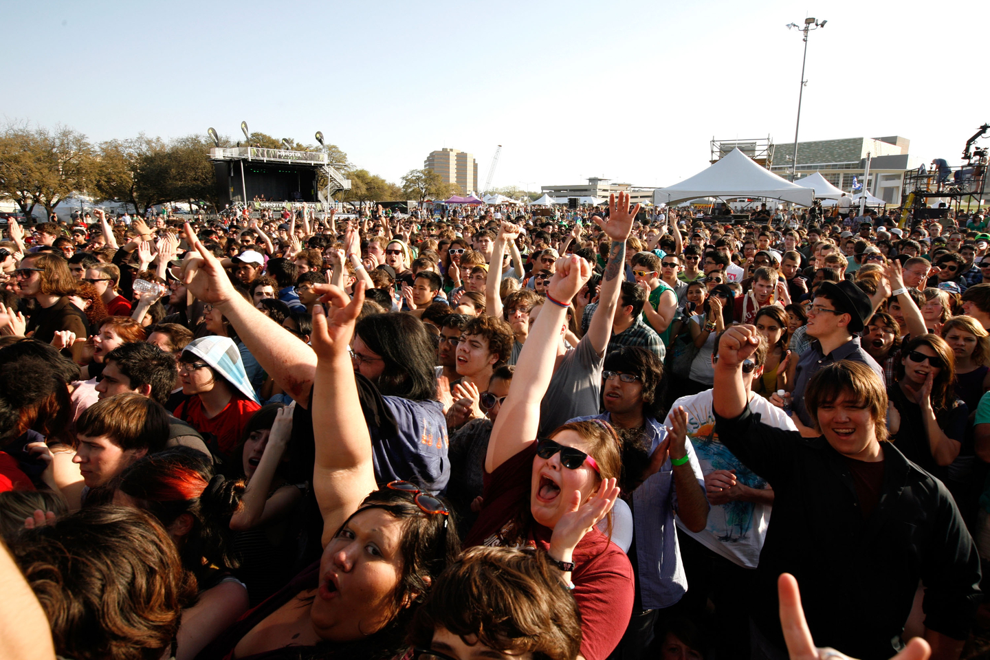 Outdoor Stage, 2011. Photo by Scott Melcer/Getty Images for SXSW