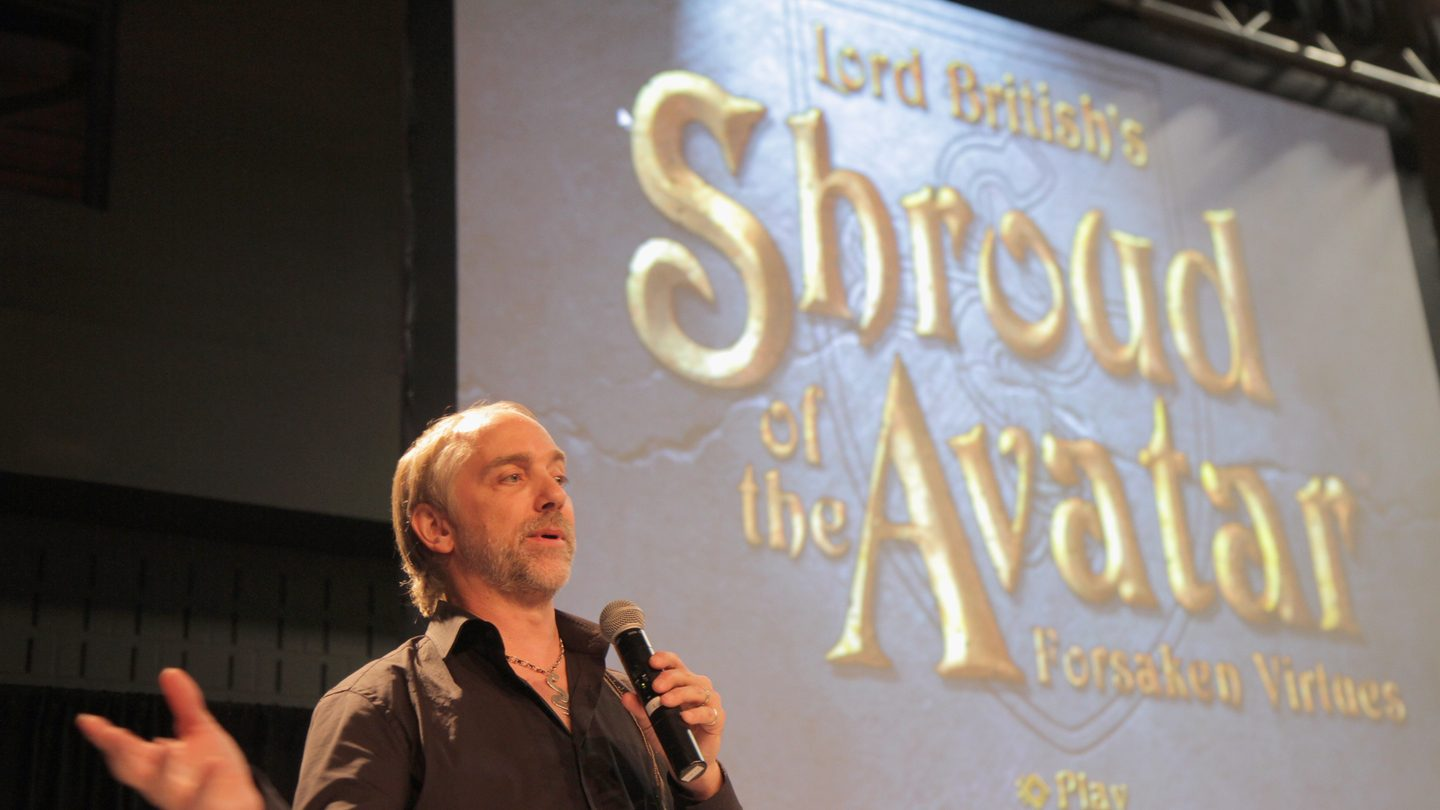 Richard Garriott at SXSW 2013. Photo by Bobby Longoria/Getty Images
