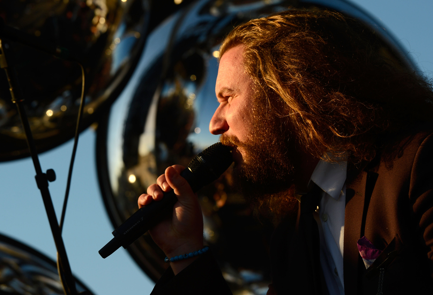 Jim James, 2013. Photo by Mark Davis/Getty Images for SXSW