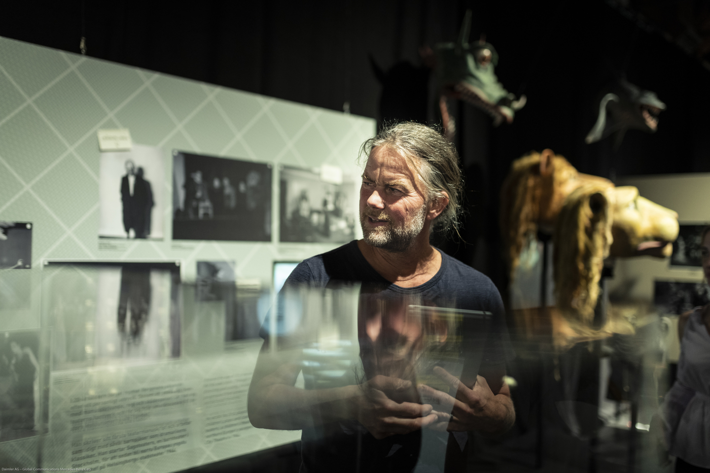 Exploration Day brought registrants to different Stockholm museums, including the Scenkonstmuseet (Swedish Museum of Performing Arts) and its special Ingmar Bergman exhibit. Photo by Teymur Madjderey/Daimler AG