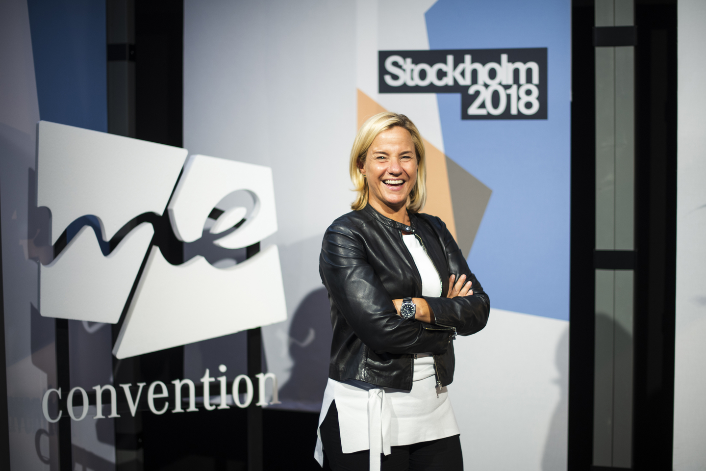 Britta Seeger, Mercedes-Benz Cars Marketing & Sales and Member of the Board of Management of Daimler AG. Photo by Teymur Madjderey/Daimler AG