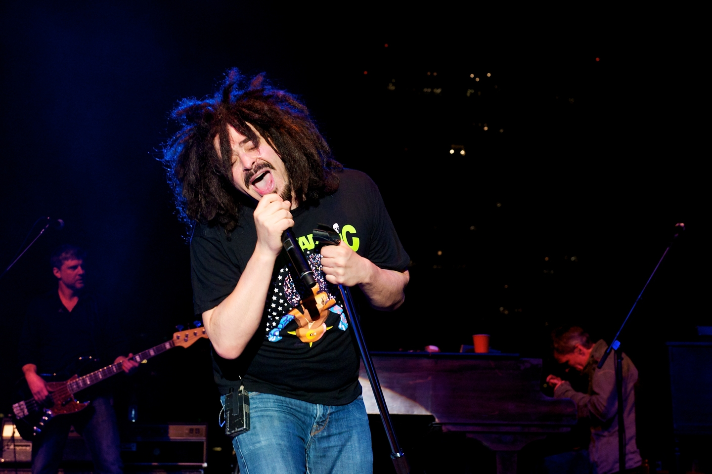Counting Crows, 2012. Photo by Debbie Finley