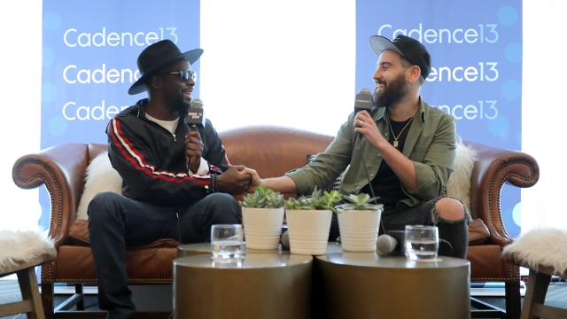 Wyclef Jean and Ross Golan speak onstage at And The Writer Is... Podcast during the 2019 SXSW Conference and Festivals at JW Marriott Austin on March 14, 2019 in Austin, Texas. (Photo by Diego Donamaria/Getty Images for SXSW)