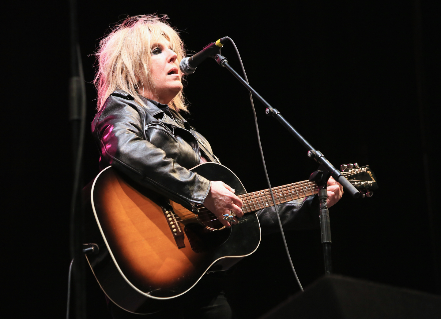 Lucinda Williams, 2014. Photo by Heather Kennedy/Getty Images for SXSW