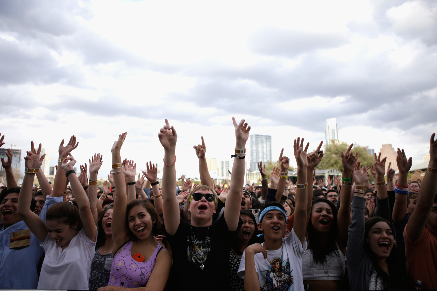 Outdoor Stage, 2014. Photo by Dustin Finkelstein/Getty Images for SXSW