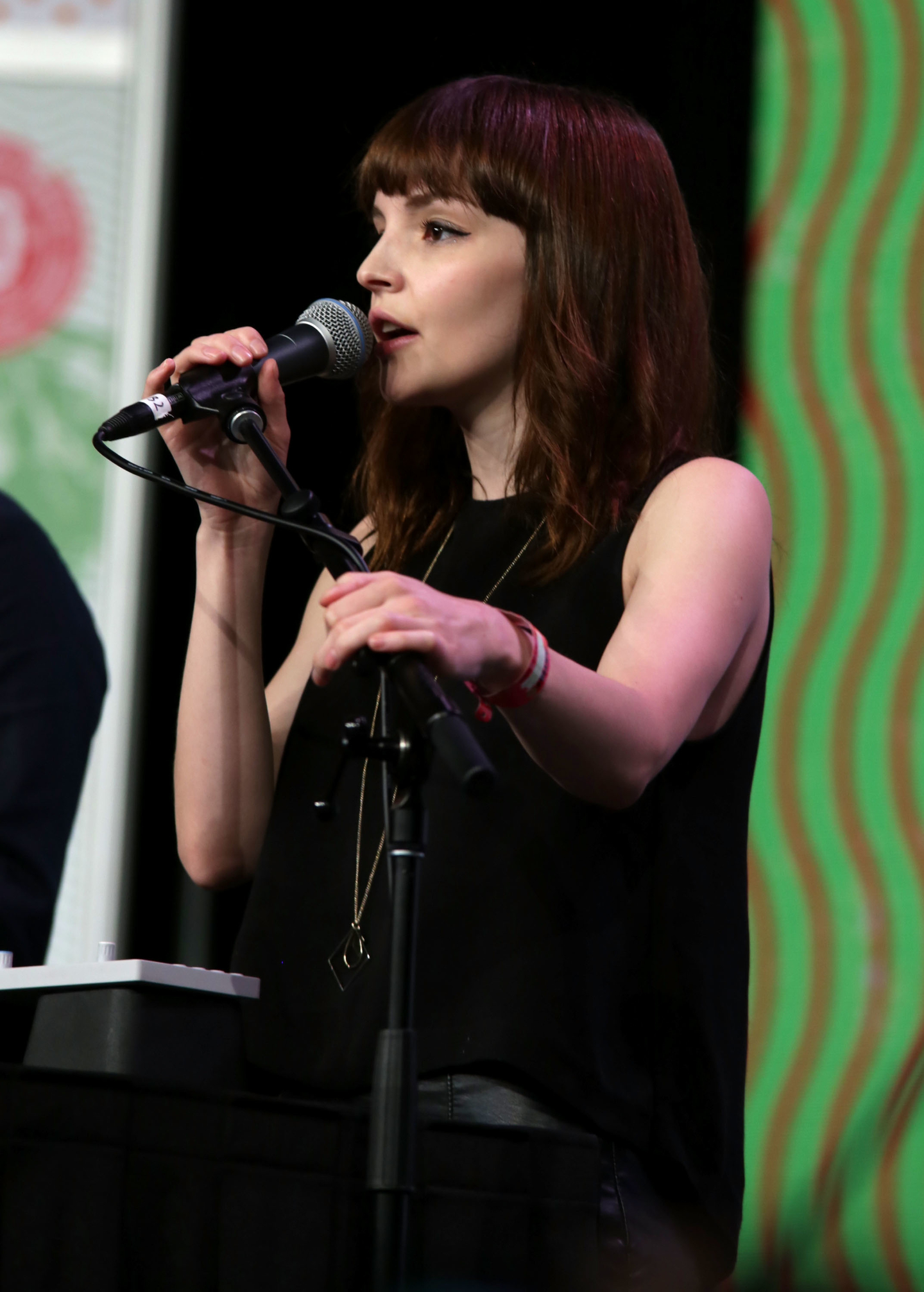 Lauren Mayberry. Photo by Sandra Dahdah/Getty Images for SXSW