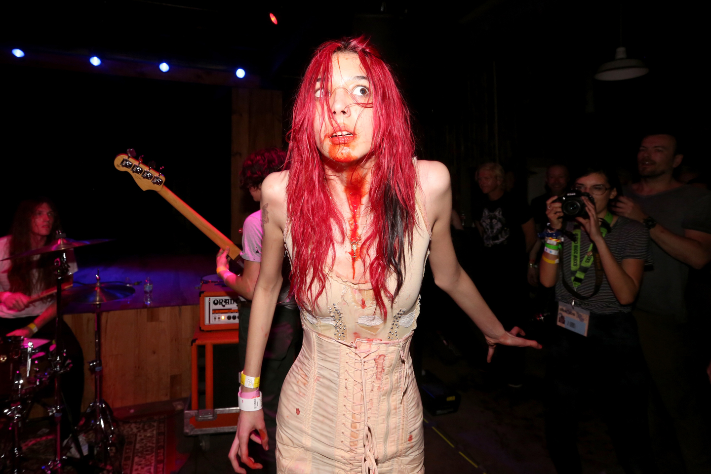 Starcrawler, presented by Fluffer x SIOLM Double Pit Party. Photo by Travis P Ball/Getty Images for SXSW