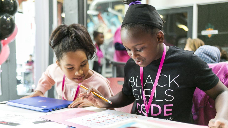 Photo courtesy of Black Girls Code