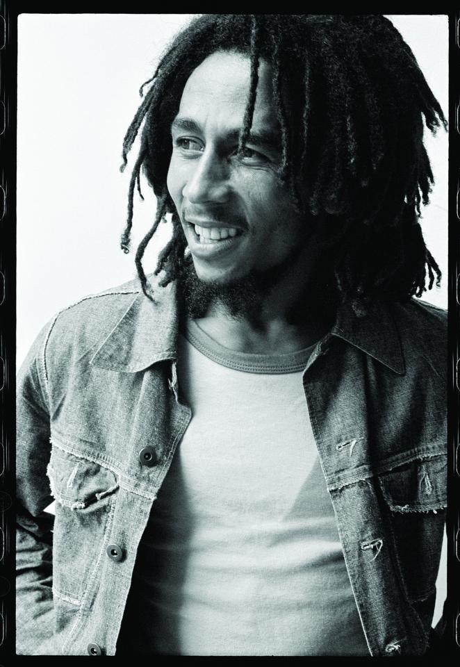 Bob Marley at the Montcalm Hotel, July 1975. © Alec Byrne.