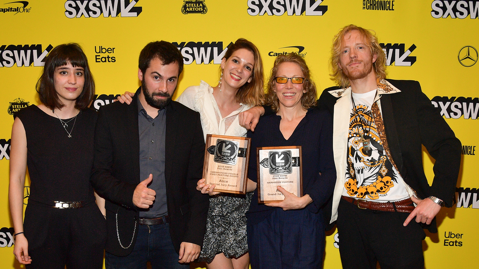 Narrative Feature Jury Winner and CherryPicks Female First Feature Award - Alice - Photo by Matt Winkelmeyer/Getty Images for SXSW