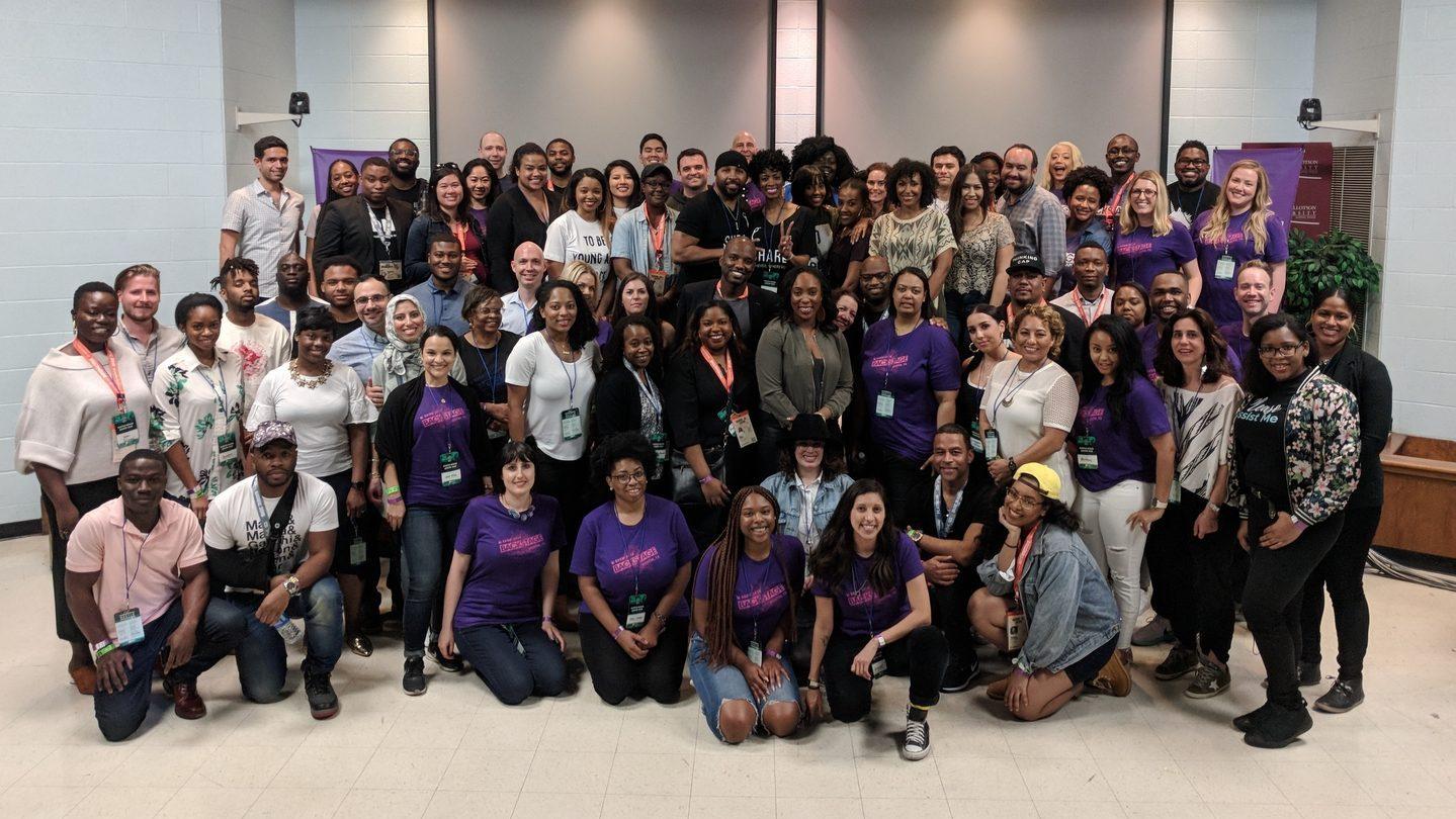 Arlan Hamilton and Headliners at SXSW 2018. Courtesy of Backstage Capital