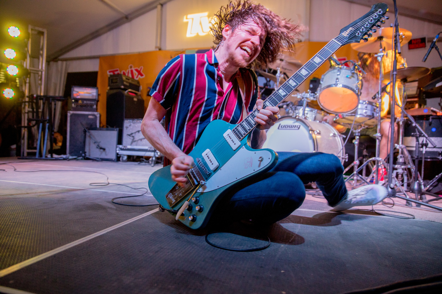 Black Pistol Fire, presented by TWIX House of Duos. Photo by Cris DeWitt