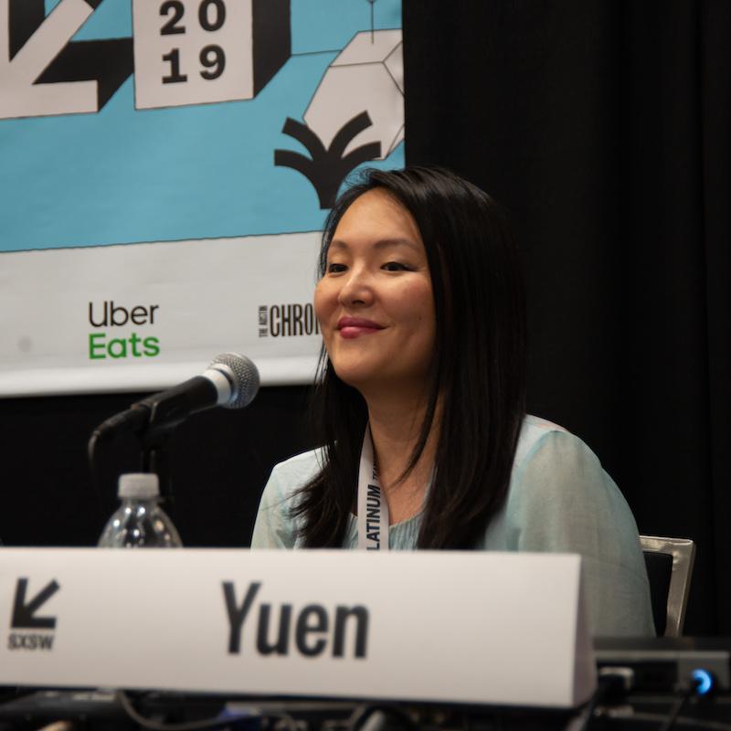 Nancy Yuen during Crazy Rich Wakanda: Building Buzz and Selling Seats - Photo by Kara Mosher