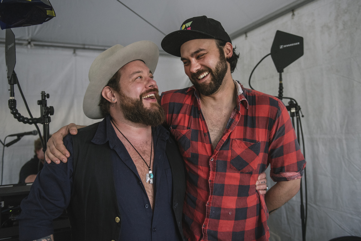 Nathaniel Rateliff and Shakey Graves, 2018. Photo by Merrick Ales
