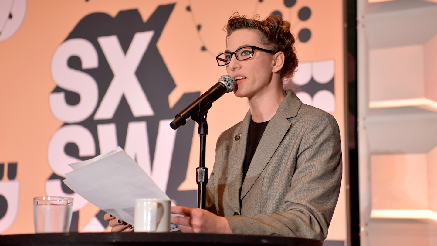 Featured Speaker: Amanda Palmer - Photo by Danny Matson/Getty Images for SXSW