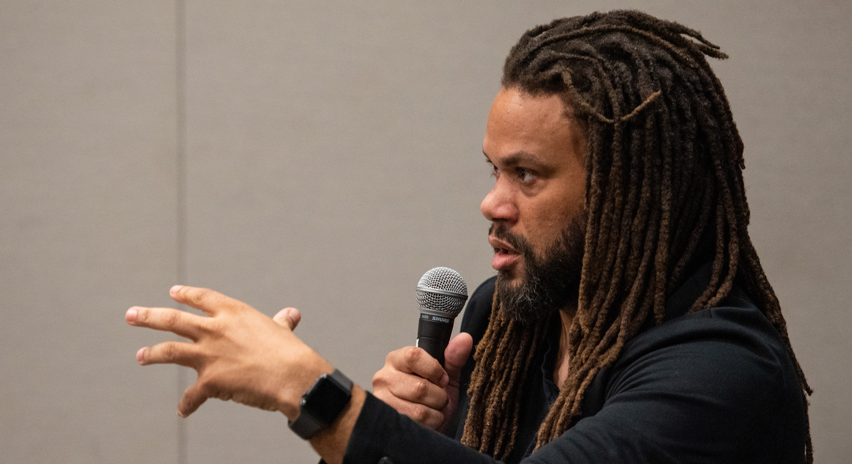 Black List founder Franklin Leonard Explains the Industry - Photo by Tico Mendoza