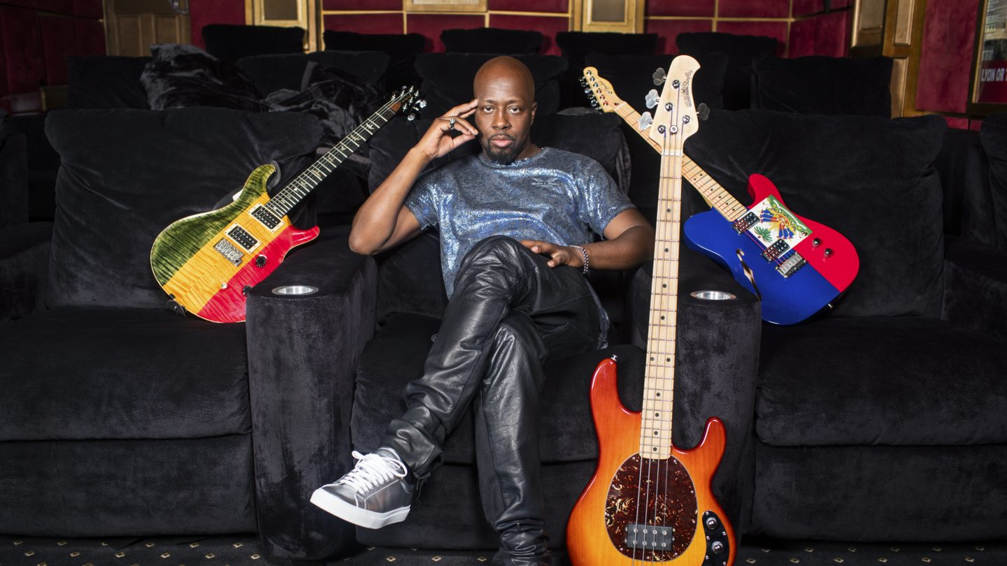 Wyclef Jean. Photo by: Karl Ferguson Jr.