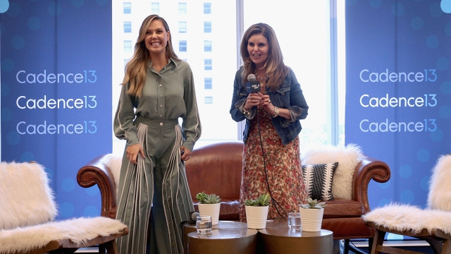Kendra Scott (L) and Maria Shriver speak onstage at Meaningful Conversations with Maria Shriver Podcast during the 2019 SXSW Conference and Festivals at JW Marriott on March 8, 2019 in Austin, Texas. (Photo by Steve Rogers Photography/Getty Images for SXSW)