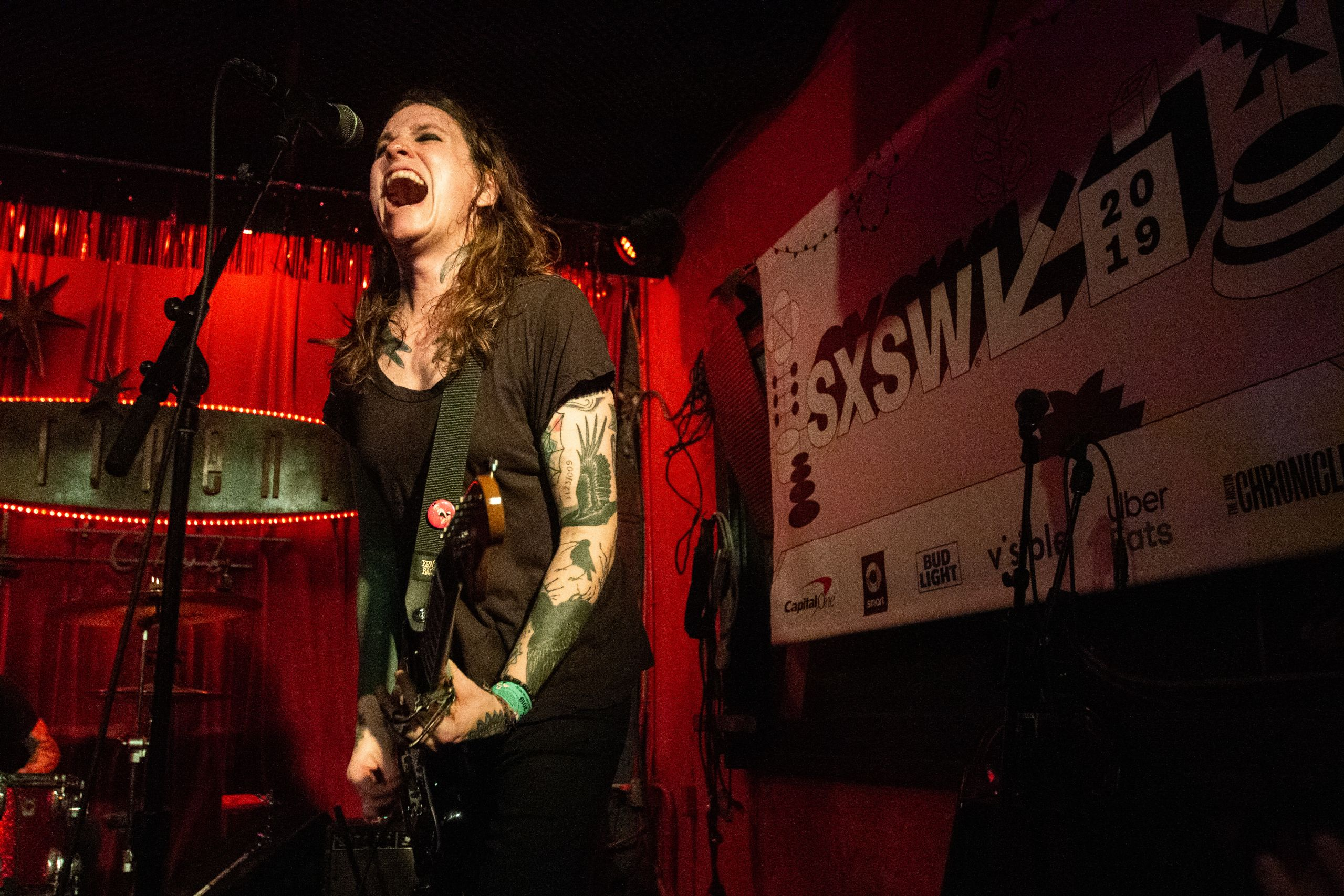Laura Jane Grace & the Devouring Mothers performs onstage during the 2019 SXSW Conference and Festivals.(Photo by Justin Zamudio)