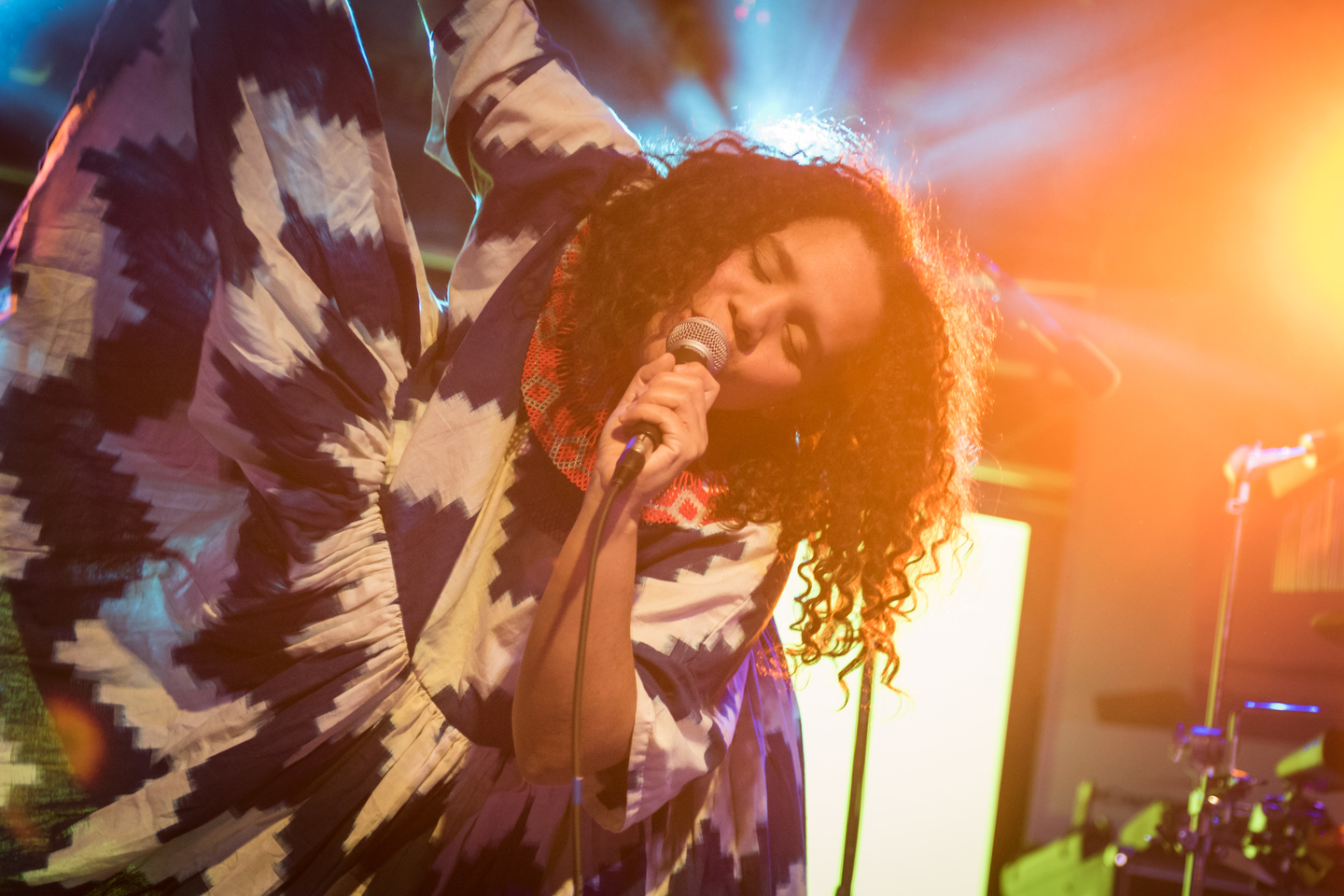 Lido Pimienta, presented by Meow Wolf: Fractallage. Photo by Tico Mendoza