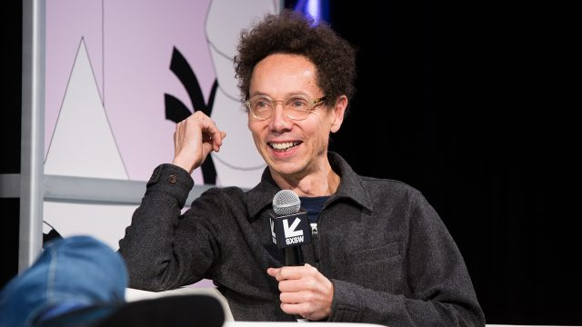 2019 Featured Speaker, Malcolm Gladwell - Photo by Akash Kataria